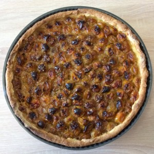 Tarte aux prunes (photo)