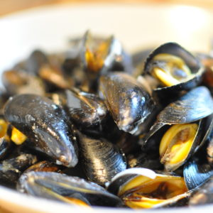 Moules marinières (photo)