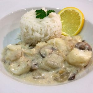 Blanquette de poisson (photo)