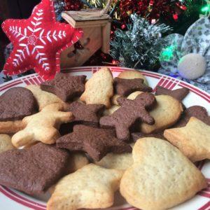 Sablés de Noël<br/>Cannelle & Chocolat (photo)