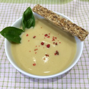 Velouté de courgettes (photo)