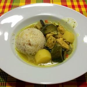 Colombo de poulet antillais (photo)