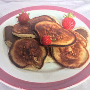 Pancakes banane «healthy» (diététiques) (photo)