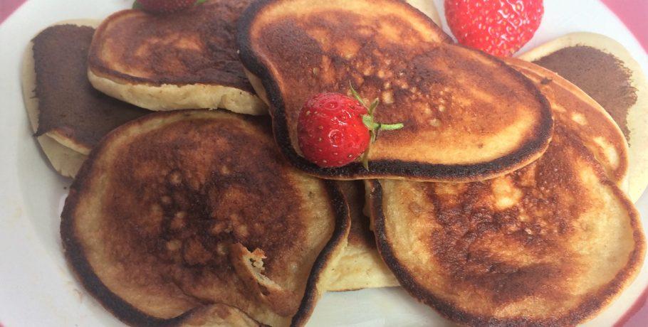 pancakes banane healthy di t tiques ta recette facile. Black Bedroom Furniture Sets. Home Design Ideas